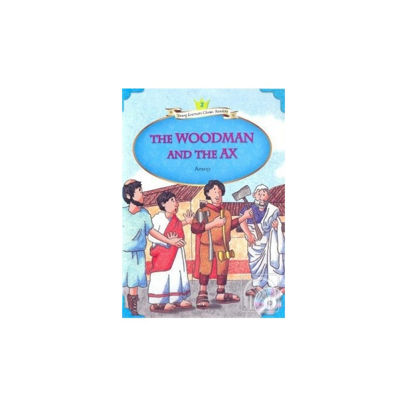 The Woodman and The Ax   MP3 CD (YLCR-Level 2)