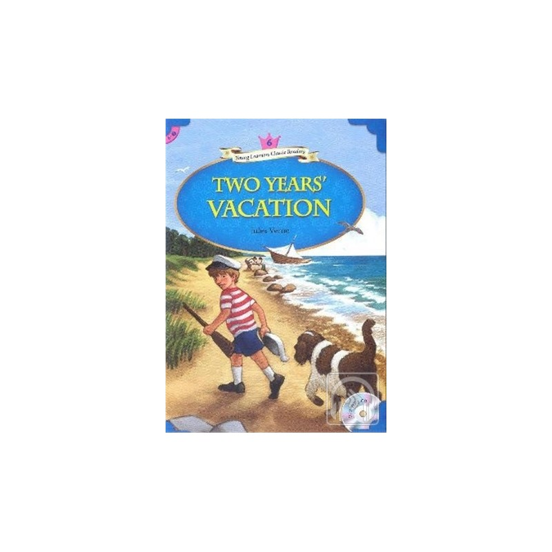 Two Years' Vacation   MP3 CD (YLCR-Level 6)
