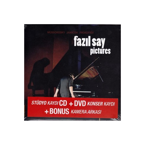 Fazıl Say - Pictures CD   DVD