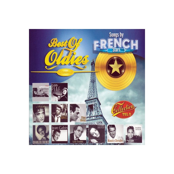 Best Of Oldies - 6 / Song By French Stars