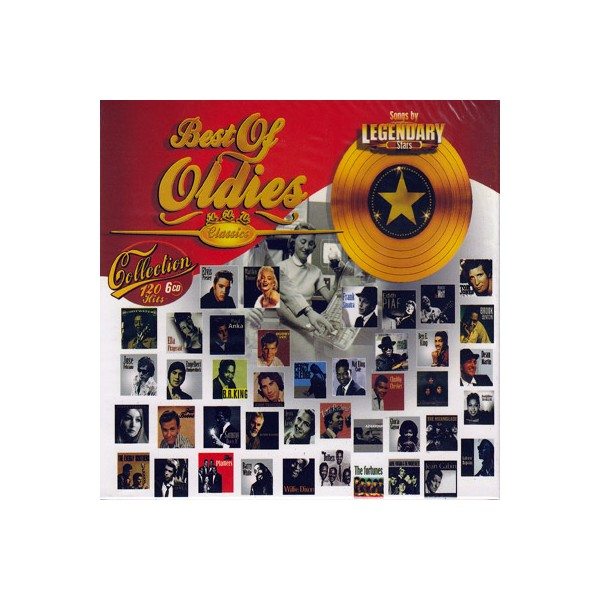 Best Of Oldies - Collection (6 CD)