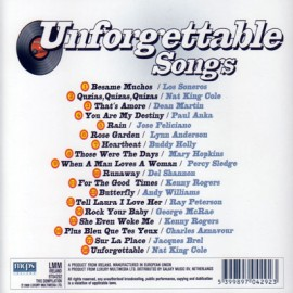 Unforgettable Songs - Unforgettable Songs