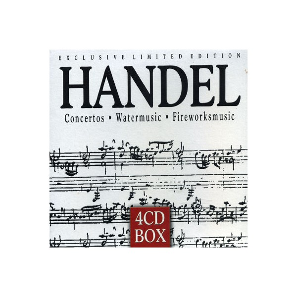 Exclusive Limited Edition - Handel Concertos Watermusic Fireworksmusic