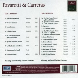 Varios Artists - Pavarotti - Carreras