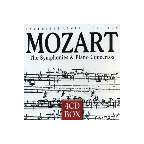 Exclusive Limited Edition - Mozart The Symphonies - Piano Concertos
