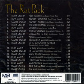 The Rat Pack - Dean Martin Sammy Davis Jr Frans Sinarta