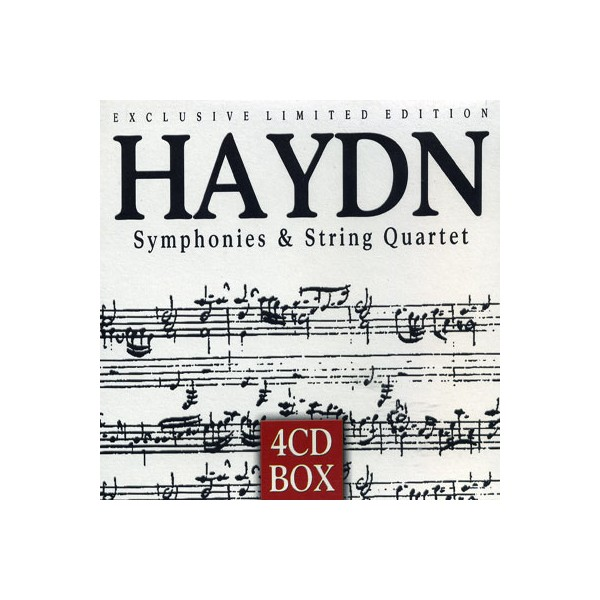 Exclusive Limited Edition - Haydn Symphonies - String Quartet