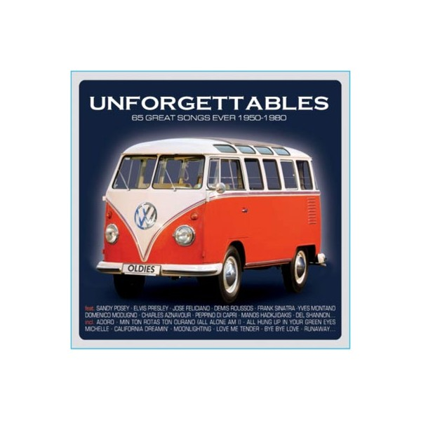 Unforgettables - 65 Great Songs Ever 1950-1980