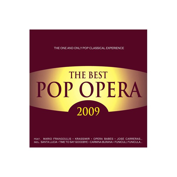 The Best Pop Opera - The Best Pop Opera 2009