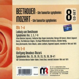 Gold Classics - Beethoven / Mozart (8 CD Set)