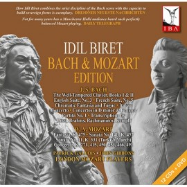 İdil Biret - Bach - Mozart Edition 12 CD   1 DVD Set