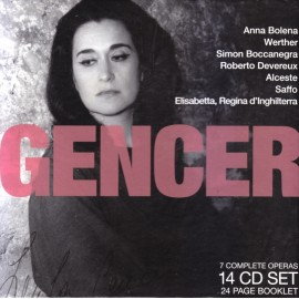 Leyla Gencer - Legendary Performances Of Gencer (14 CD)