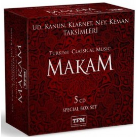 Makam - Turkish Classical Music (5CD Box Set)