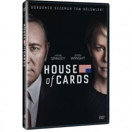 House Of Card - Sezon 4 (4 DVD )