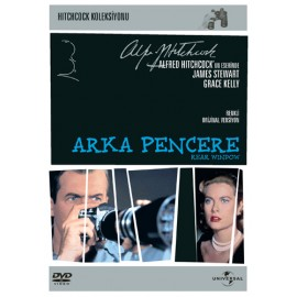 Alfred Hitchcock  - Arka Pencere / Rear Window (1954)