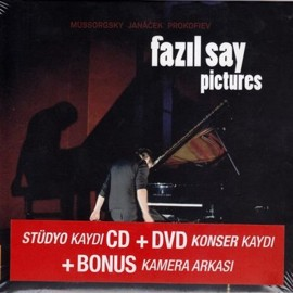 Fazıl Say - Pictures CD + DVD