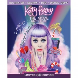 Katy Perry - Part Of Me 3D Blu-Ray