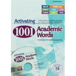 Activating 1001 Academic Words with CD-ROM